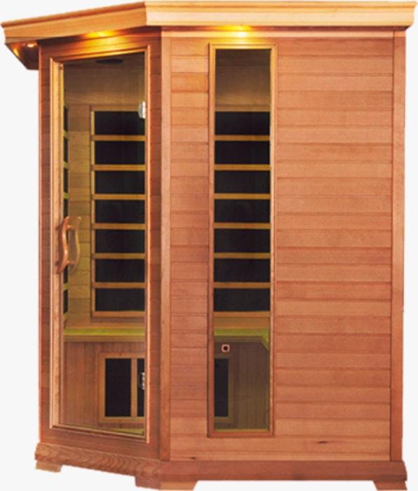Инфракрасная сауна <br>Corner Lux <br>Essence <br>Cedar