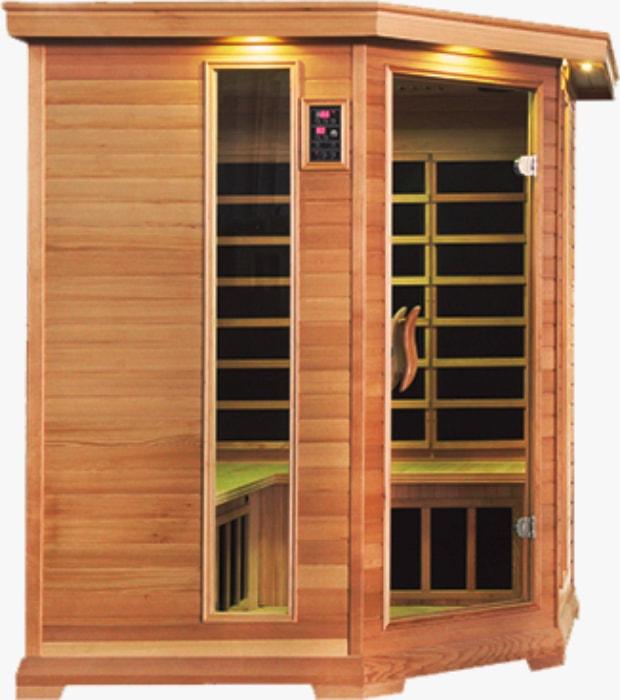 Инфракрасная сауна <br>Corner Essence <br>Cedar<br>